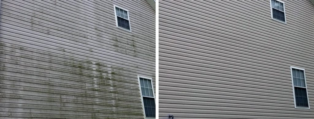Window Butler Before & After: Building Cleaning